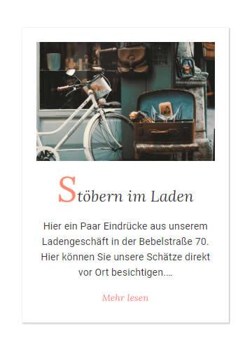 Antiquitäten Laden für  Neuwirtshaus (Stuttgart)