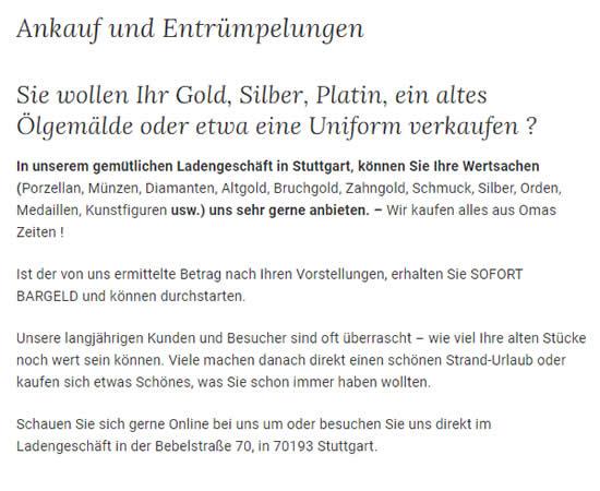 Gold Silber Ankauf